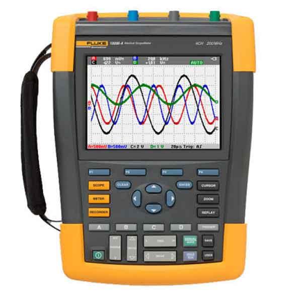 Fluke Biomedical 190M. Портативний осцилограф-мультиметр медичних сигналів.