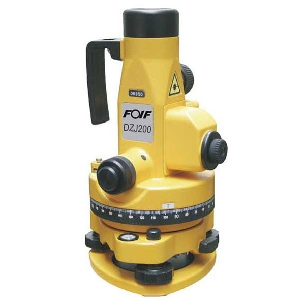 FOIF DZJ-200. Прилад вертикального проектування.