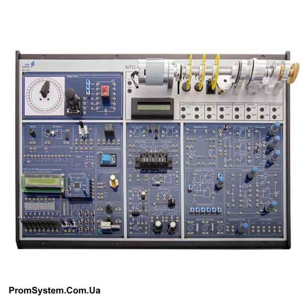 НТЦ-02.30. Мікропроцесорна техніка, датчики і елементи систем управління. Навчально-лабораторний стенд.