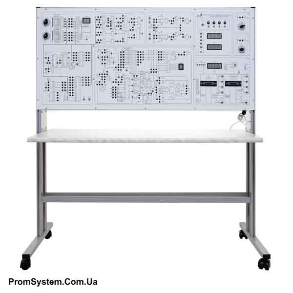 НТЦ-02.58. Основи цифрової електроніки і мікропроцесорної техніки. Навчально-лабораторний стенд.