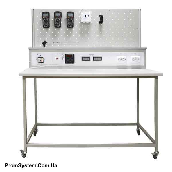 НТЦ-05.01.1. Вимірювання неелектричних величин. Вимірювання температури. Навчально-лабораторний стенд.