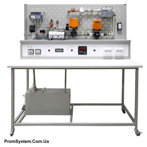 НТЦ-05.01.2. Вимірювання неелектричних величин. Вимірювання витрати. Навчально-лабораторний стенд.