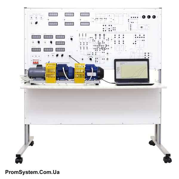НТЦ-06.23. Електричні машини з МПСУ. Навчально-лабораторний стенд.