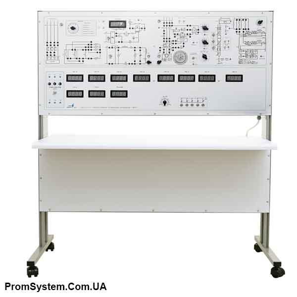 НТЦ-10.10.1. Електропостачання промислових підприємств з МПСО. Навчально-лабораторний стенд.