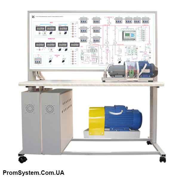 НТЦ-10.49. Енергозберігаючі технології. Електропостачання з МПСО. Навчально-лабораторний стенд.