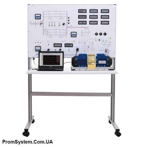 НТЦ-10.72. Моделювання перехідних процесів в електроенергетичних системах з МПСО. Навчально-лабораторний стенд.