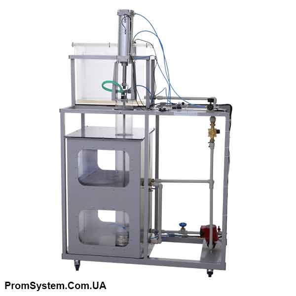 НТЦ-11.01. Модель гідропоршневої насосної установки. Навчально-лабораторний стенд.
