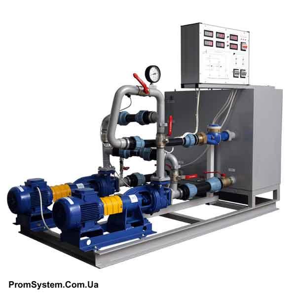 НТЦ-11.60. Дослідження гідравлічних характеристик насосного обладнання з МПСО. Навчально-лабораторний стенд.