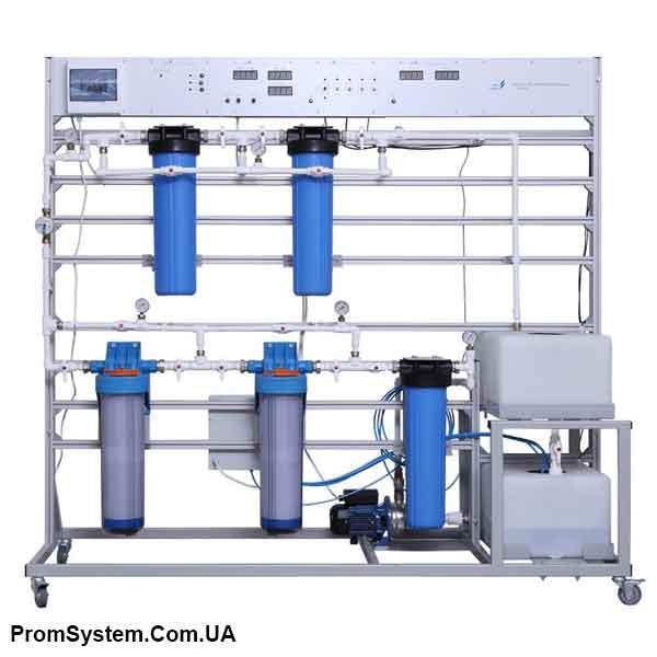НТЦ-11.74. Фільтрація води. Навчально-лабораторний стенд.
