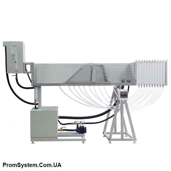 НТЦ-11.90.1. Гідравліка: фільтрація, грунт. Навчально-лабораторний стенд.