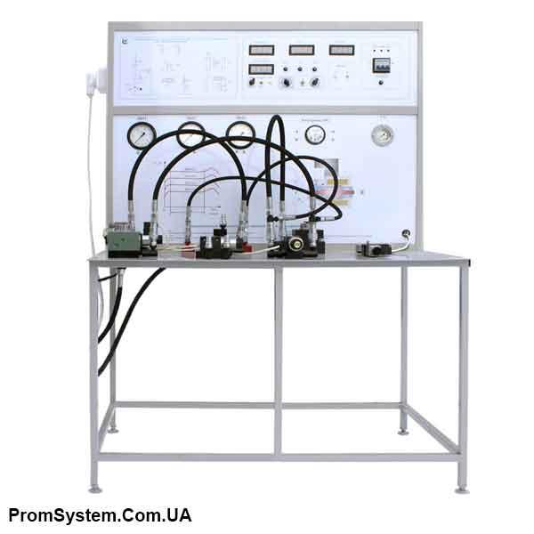 НТЦ-11.94. Гідравлічна апаратура з електричним пропорційним управлінням. Навчально-лабораторний стенд.