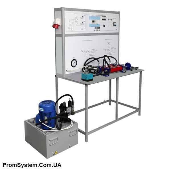 НТЦ-11.99. Електрогідравлічні системи автоматичного управління. Навчально-лабораторний стенд.