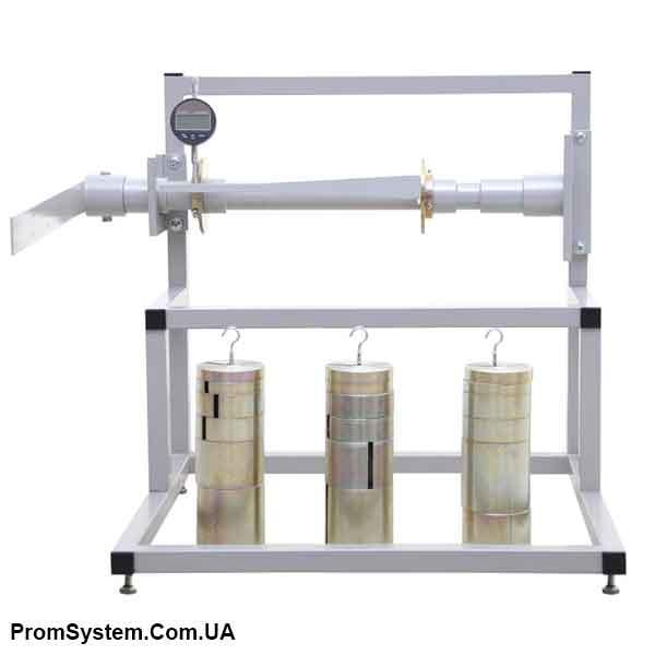 НТЦ-13.01.11. Визначення модуля зсуву при крученні. Навчально-лабораторний стенд.