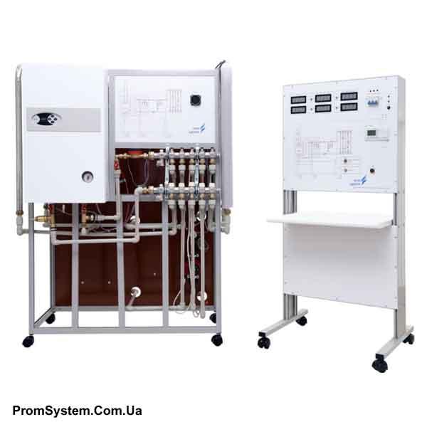 НТЦ-14.50. Енергозберігаючі технології. Теплопостачання з МПСО. Навчально-лабораторний стенд.