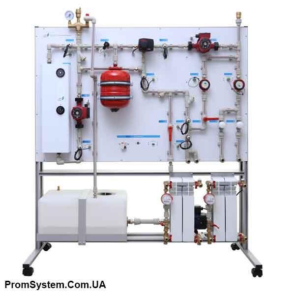 НТЦ-14.51.2. Автоматизована система опалення. Навчально-лабораторний стенд.