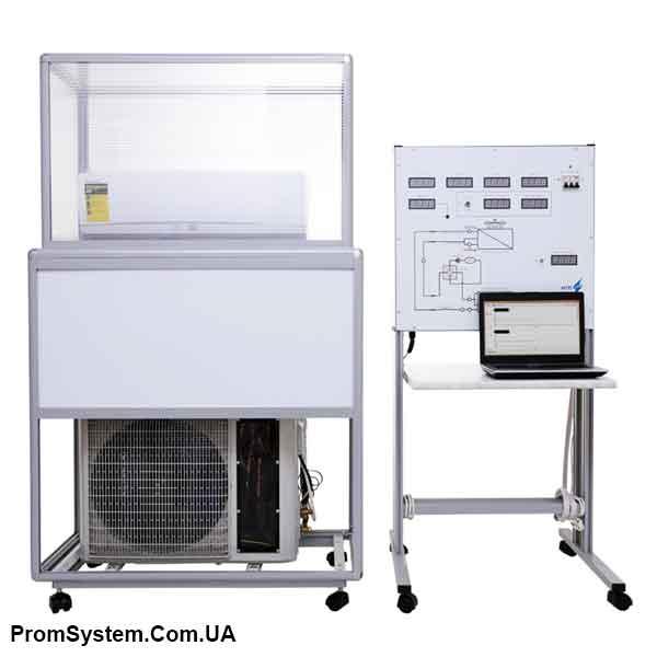 НТЦ-14.57. Термодинаміка. Зворотні термодинамічні цикли (пристрої). Навчально-лабораторний стенд.