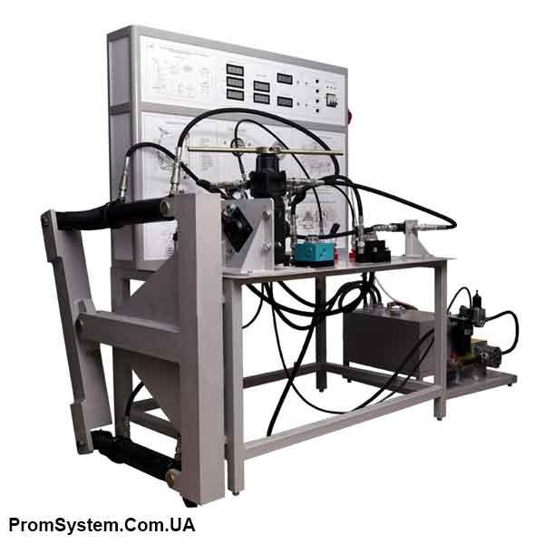 НТЦ-15.39.3. Загальні та поелементні випробування і діагностування рульового управління автомобіля з гідропідсилювачем полуінтегрального типу. Навчально-лабораторний стенд.
