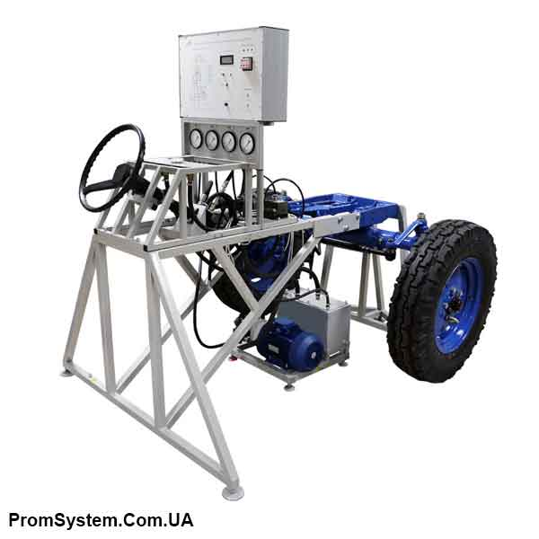 НТЦ-15.39.6. Гідрооб'ємне рульове управління трактора МТЗ-80.1. Навчально-лабораторний стенд.