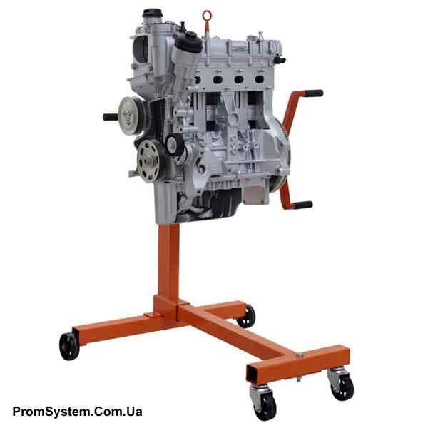 НТЦ-15.89.1. Сучасний бензиновий двигун з ланцюговою передачею приводу розподільного вала. Навчально-лабораторний стенд.