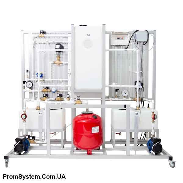 НТЦ-16.44. Засоби автоматизації та диспетчеризації в системах водопостачання. Навчально-лабораторний стенд.