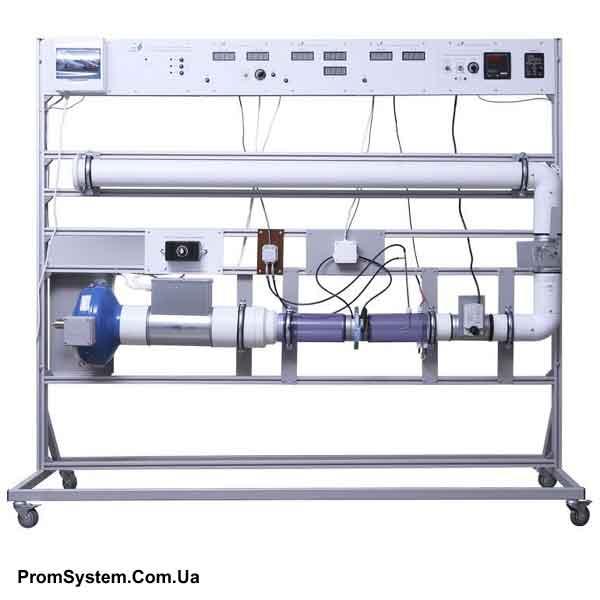 НТЦ-16.73. Автоматика систем теплогазопостачання та вентиляції. Навчально-лабораторний стенд.