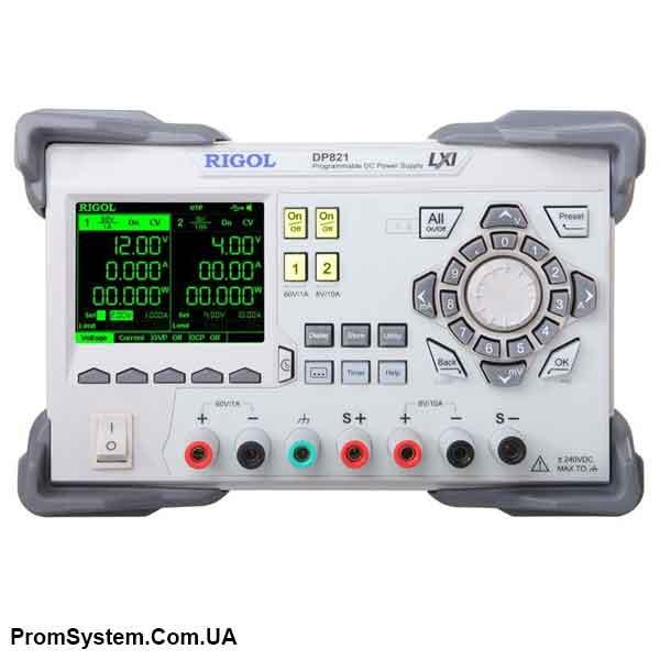 Rigol DP821 лабораторный ИП постоянного тока в бюджетном исполнении