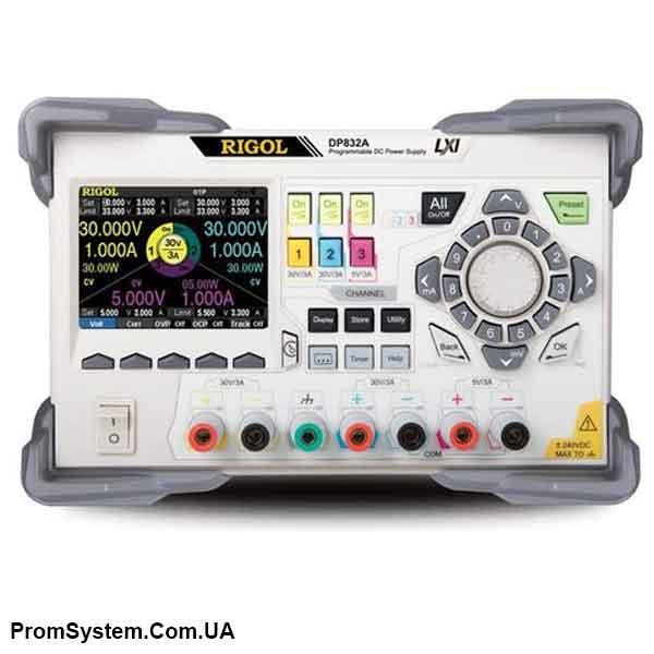 Rigol DP832A программируемый источник питания