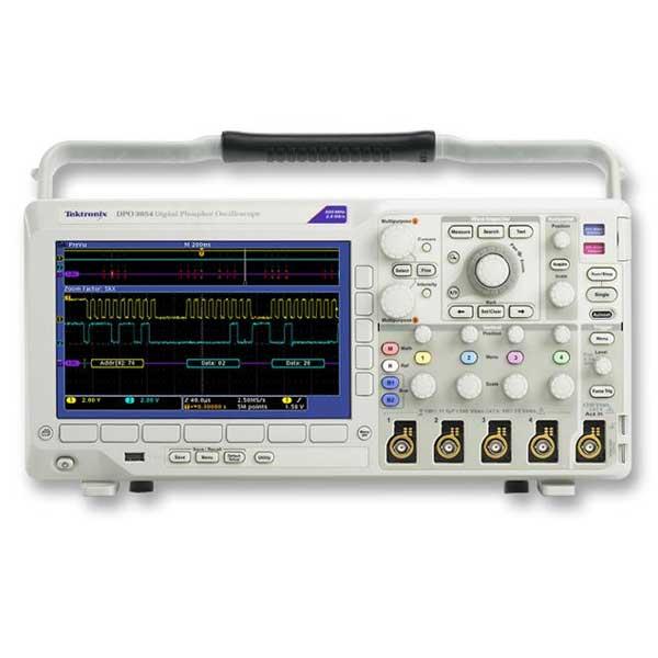 Tektronix DPO3014 осцилограф цифровий