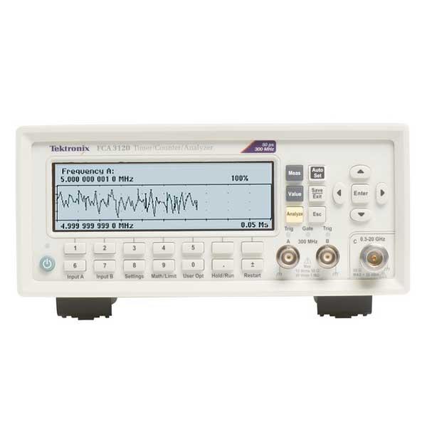 Tektronix FCA3003 частотомір 3 канали, 3 ГГц