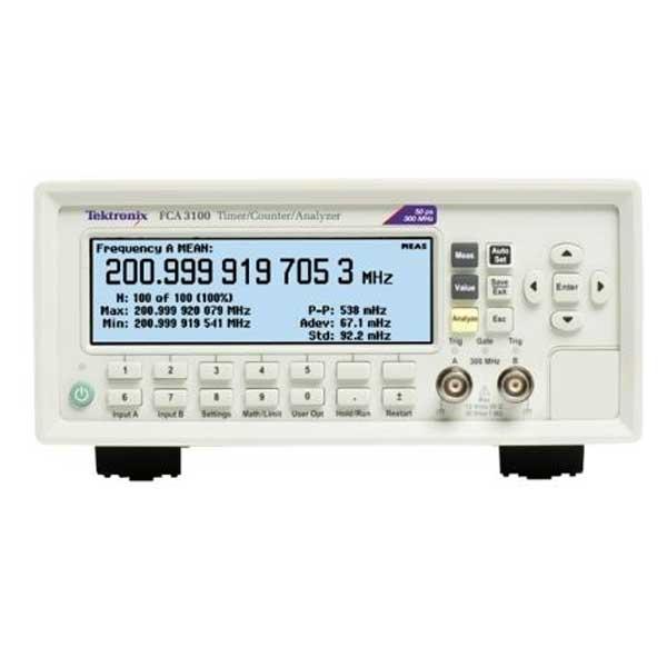 Tektronix FCA3100 частотомір 2 канали, 300 МГц
