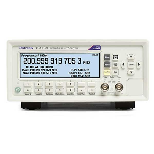 Tektronix FCA3103 частотомір 3 канали, 3 ГГц