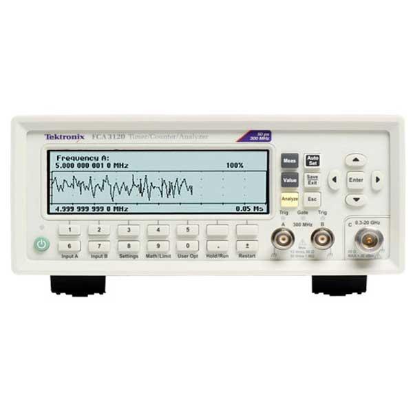 Tektronix FCA3120 частотомір 3 канали, 20 ГГц