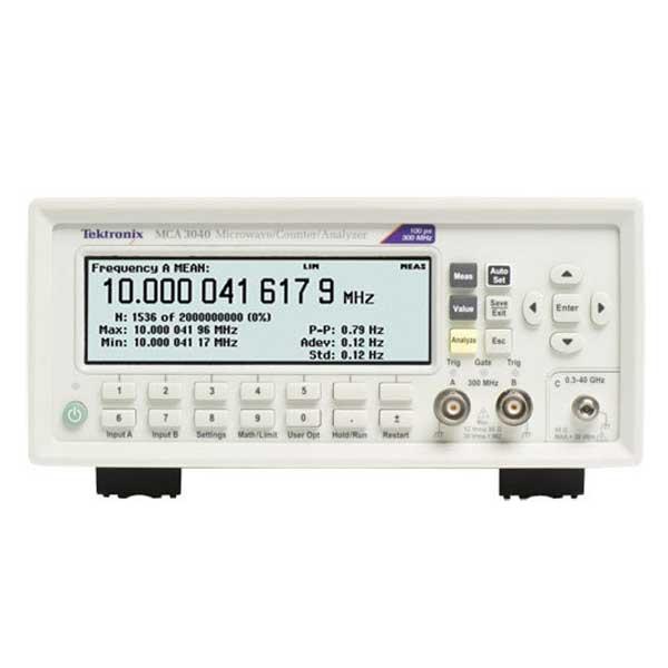 Tektronix MCA3027 частотомір 3 канали, 27 ГГц