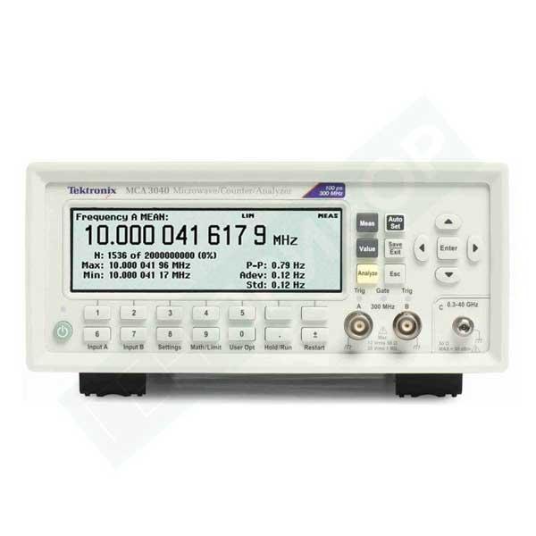 Tektronix MCA3040 частотомір 3 канали, 40 ГГц