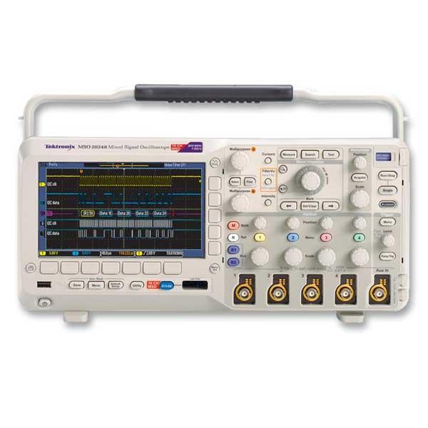 Tektronix MSO2024B осцилограф змішаних сигналів 4 + 16 каналів, 200 МГц