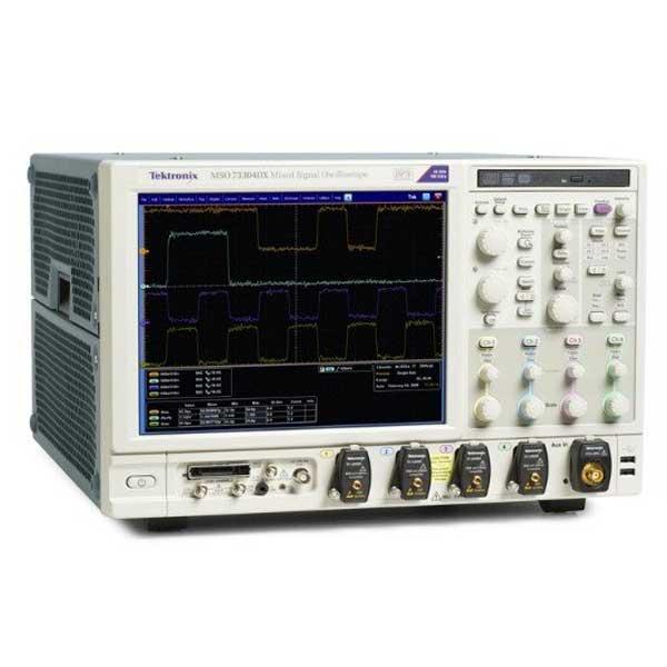 Tektronix MSO73304DX. Осцилограф цифрових і змішаних сигналів 4 + 16 каналів, 33 ГГц.