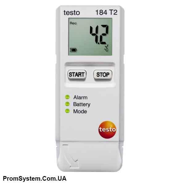 Testo 184 T2. Логгер данных температуры.