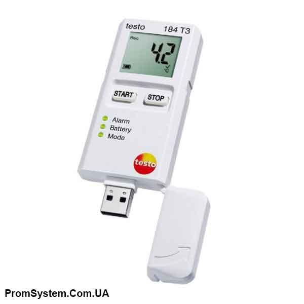 Testo 184 T3. Логгер данных температуры.