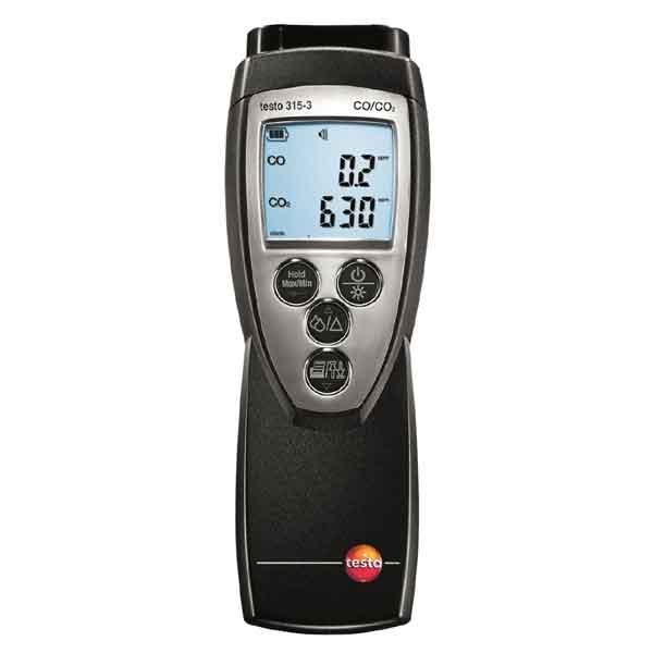 Testo 315-3. Анализатор CO/CO2 в окружающей среде c Bluetooth.