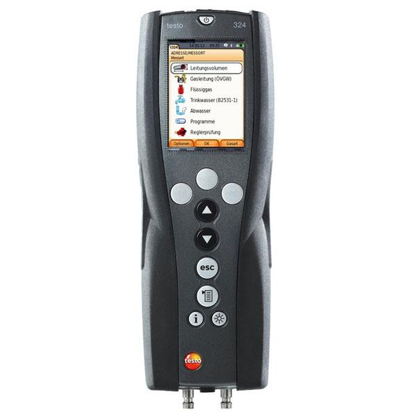 Testo 324 Pro. Прибор измерения давления. Полный комплект для наладчиков (комплект).