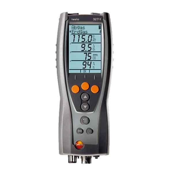 Testo 327-1. CO-версия газоанализатора дымовых газов.