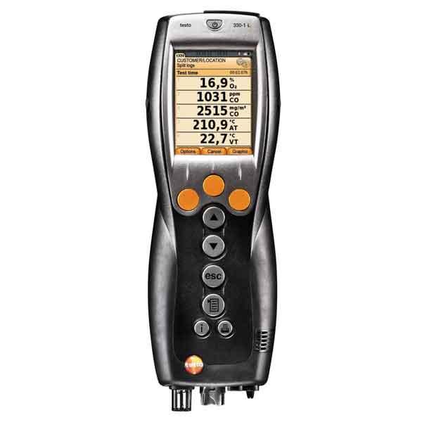 Testo 330-1 LL. газоанализатор дымовых газов, NOx (комплект)