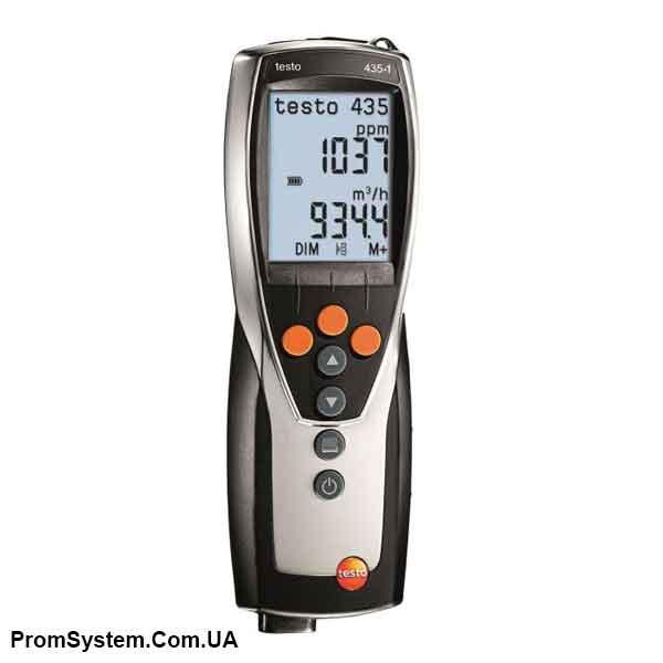 Testo 435-4. Многофункциональный измерительный прибор.