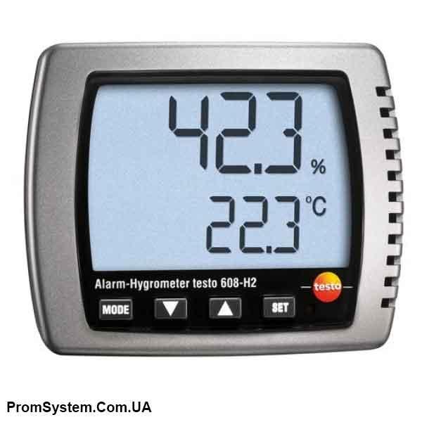 Testo 608-H2. Термогигрометр с функцией сигнализации.