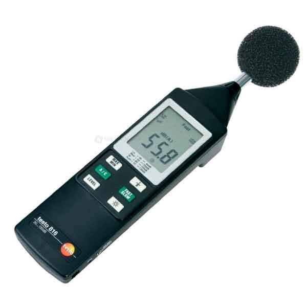 Testo 816-4. Цифровой универсальный шумомер.