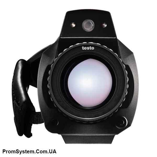 Комплект Testo 890-2 тепловізор c супер-телеоб'єктивом (/ C2 (супер-телеоб'єктив) + С1 (телеоб'єктив) + I1)